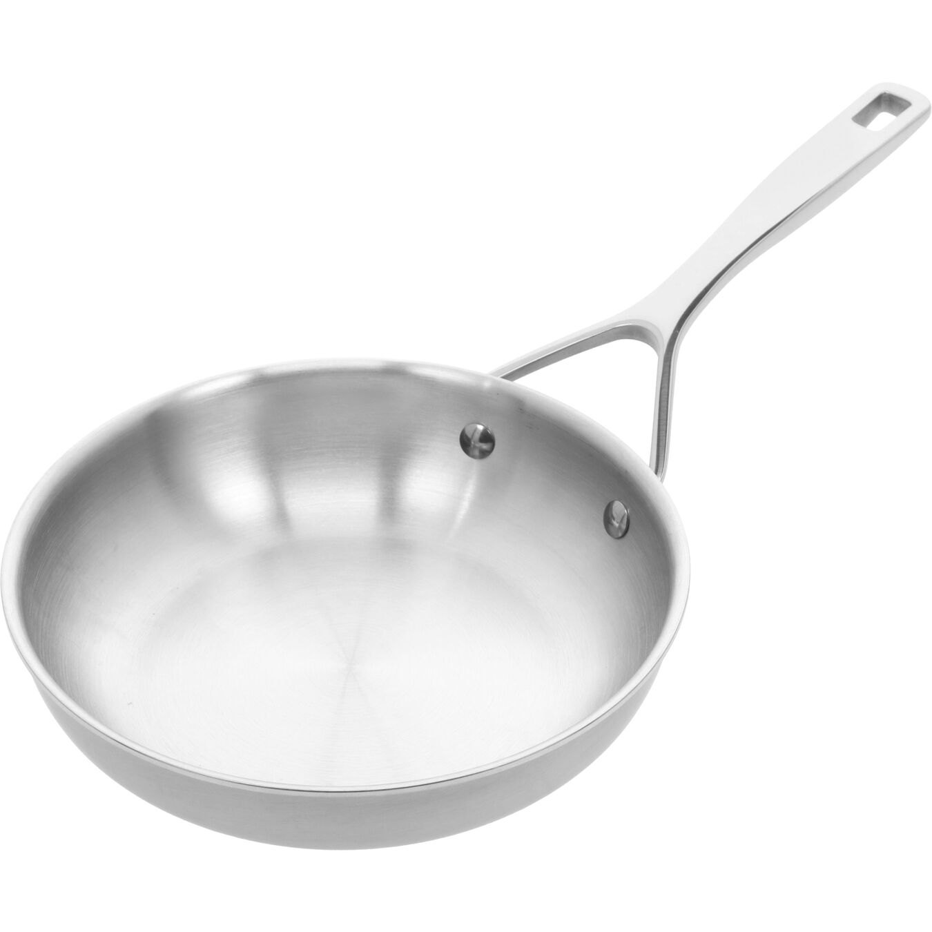 8-inch, 18/10 Stainless Steel, Non-stick, Frying pan,,large 4