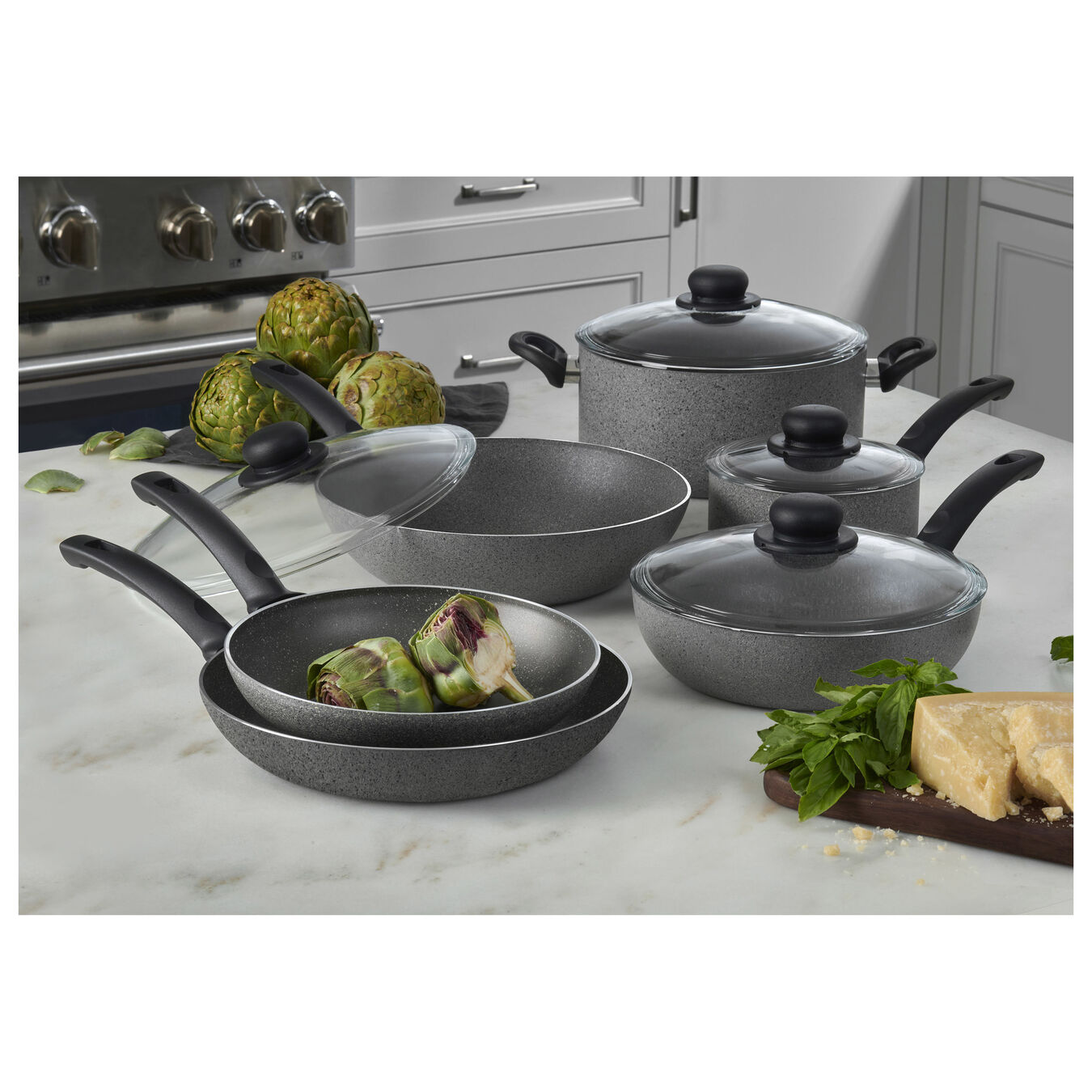 10-pc Nonstick Cookware Set,,large 8
