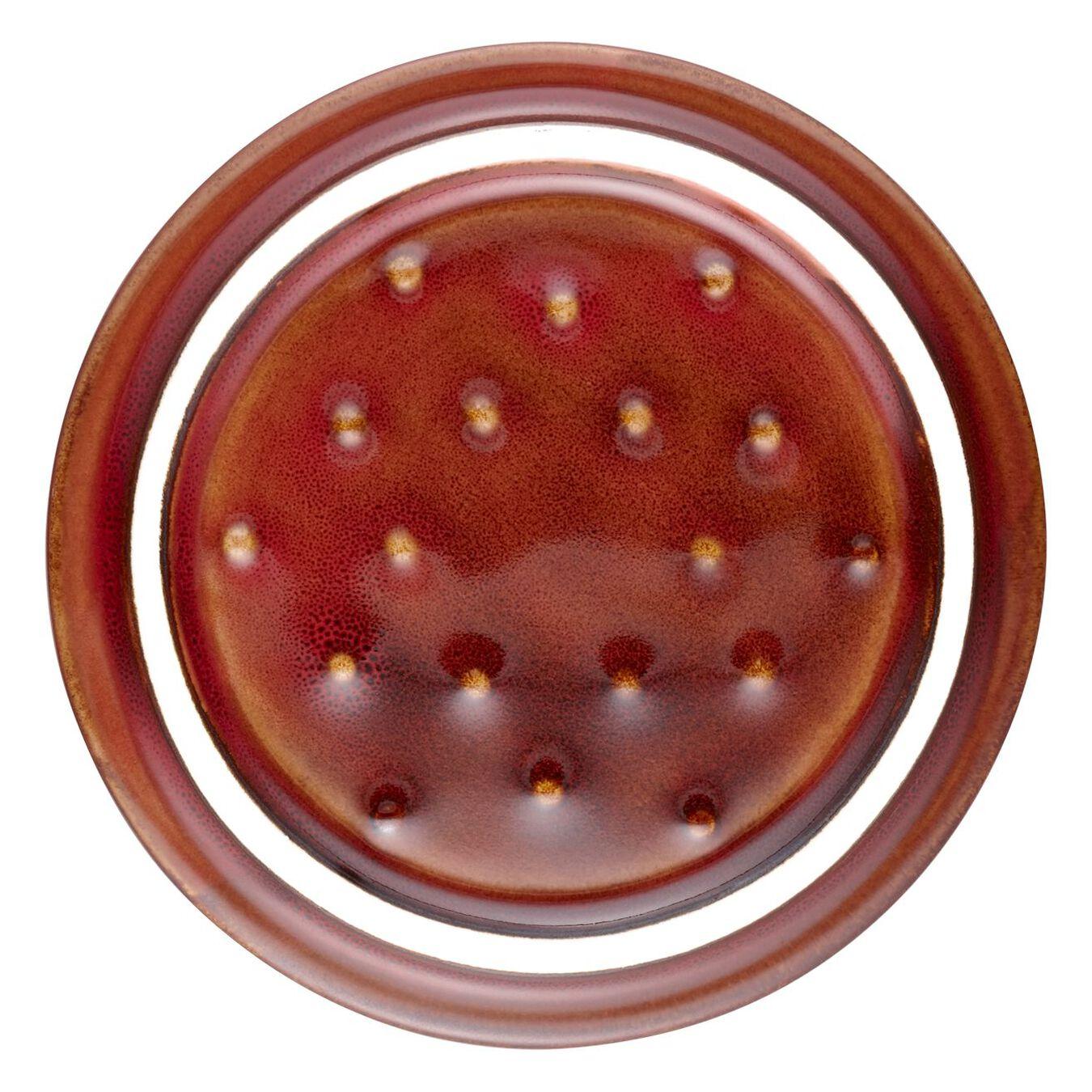 Mini cocotte rotonda - 10 cm, rame antico,,large 4