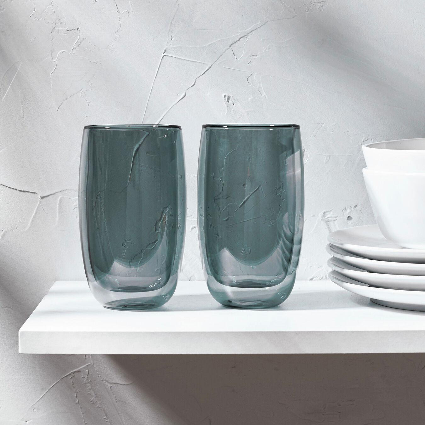 2-pc, Latte glass set,,large 3