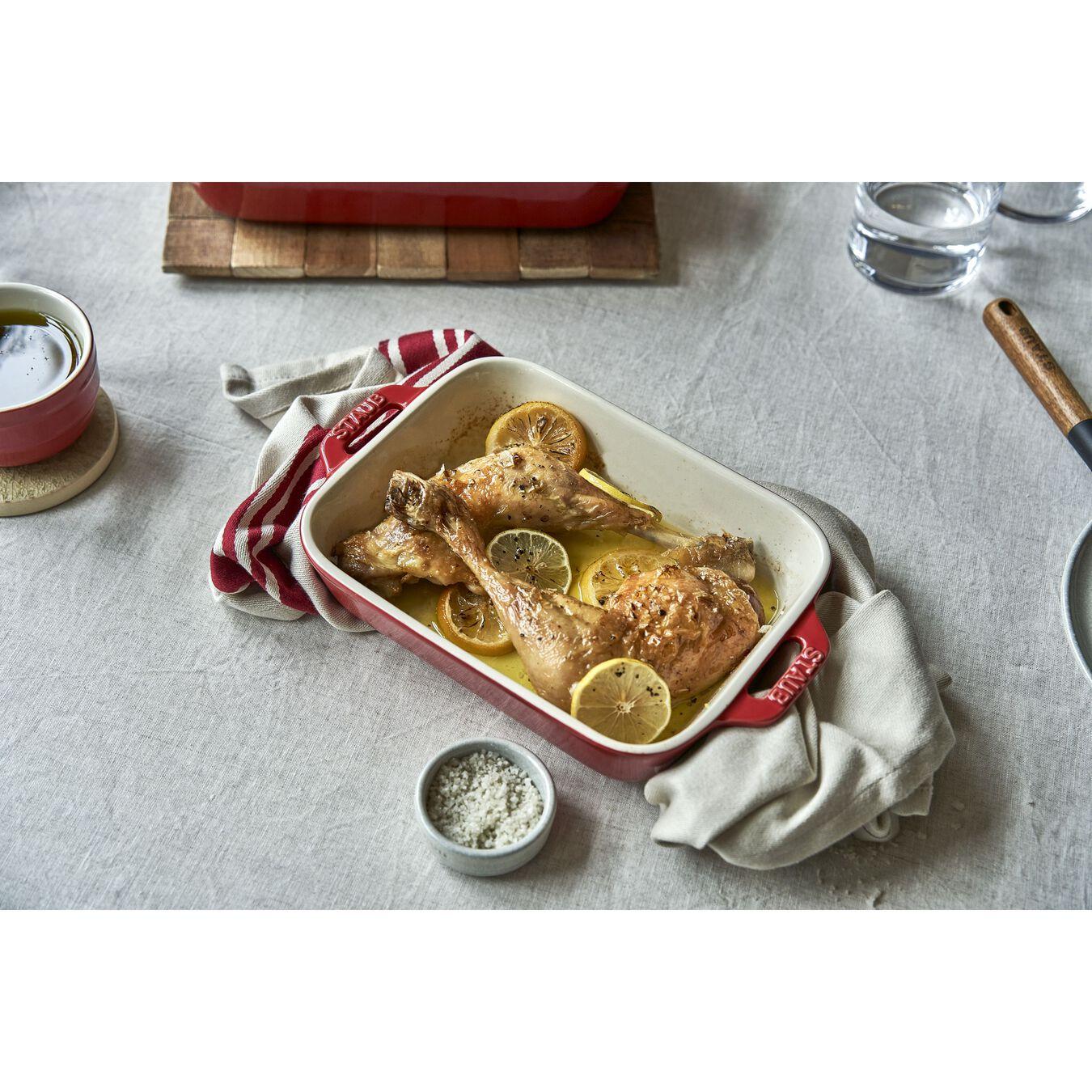 Ovenware set, 2 Piece | rectangular | cherry,,large 7
