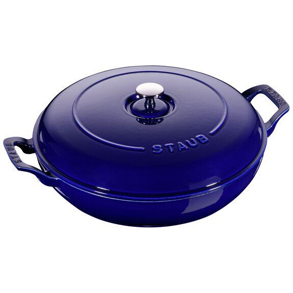 12-inch Enamel Saute pan,,large