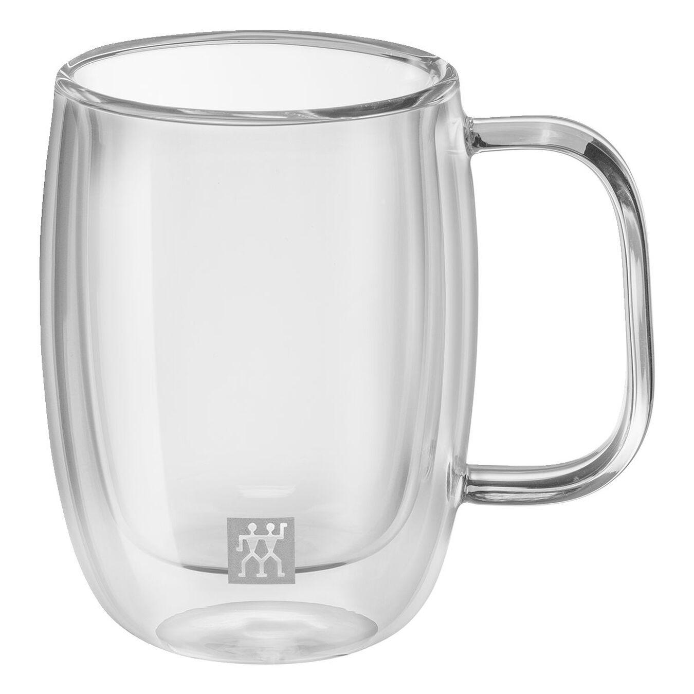 Service de verres à expresso à double paroi, 2-pces,,large 1