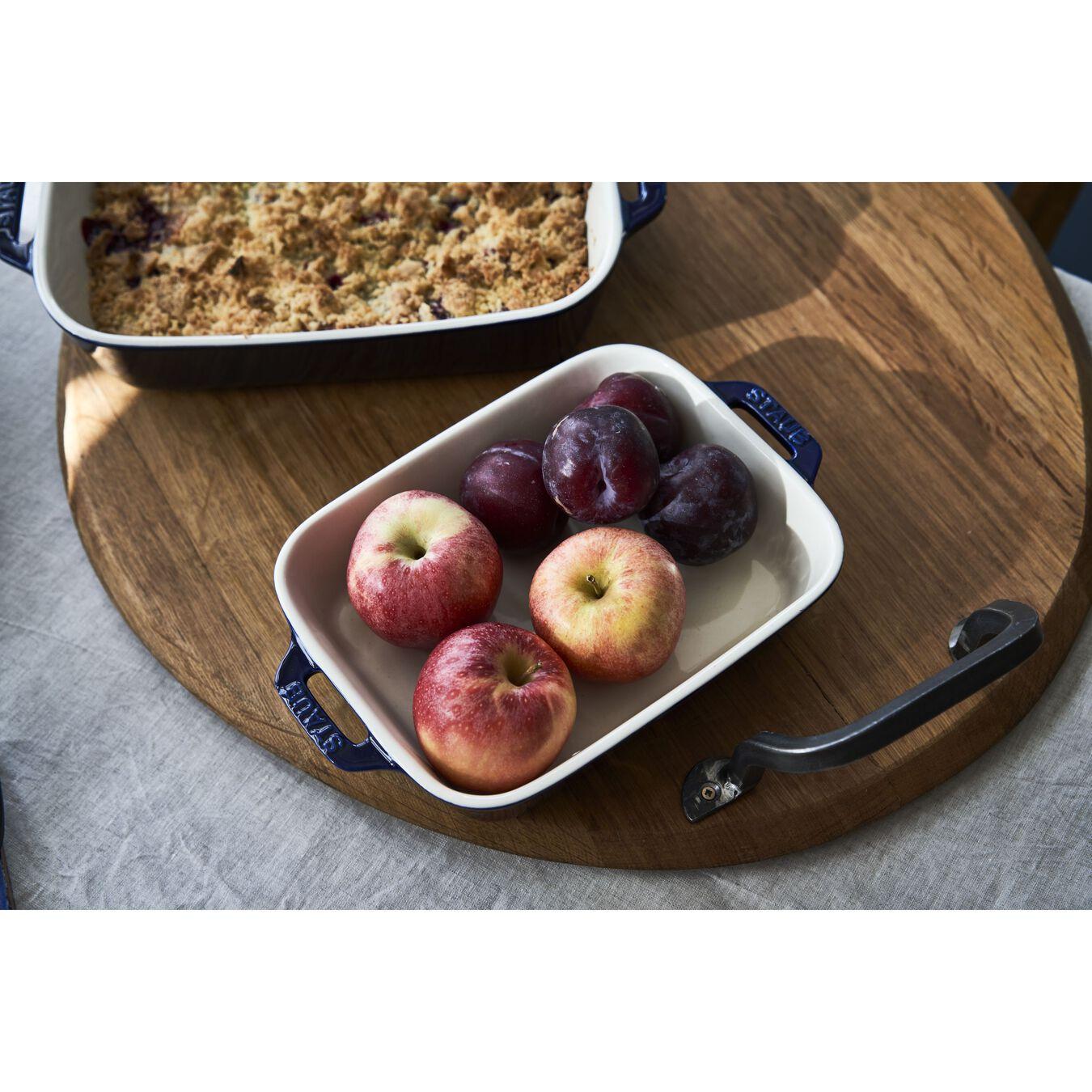 Ovenware set, 2 Piece | rectangular | dark-blue,,large 6