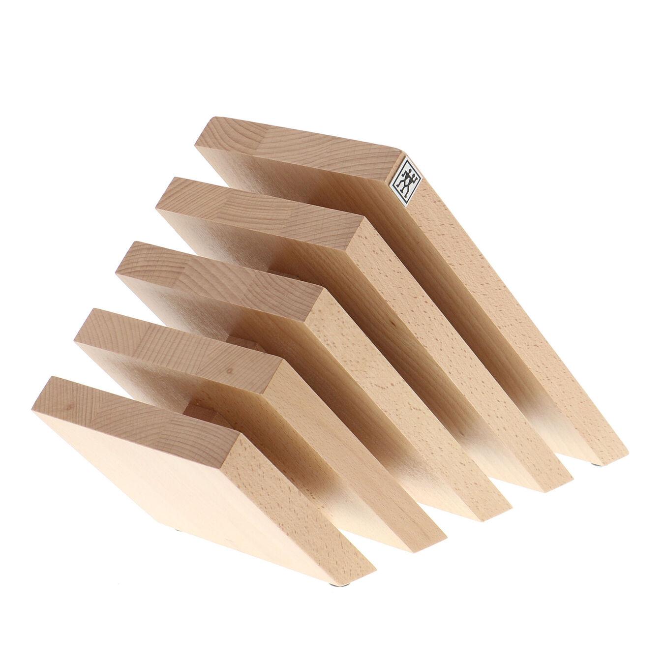 Beechwood, Slanted Italian Magnetic Block- Natural,,large 1