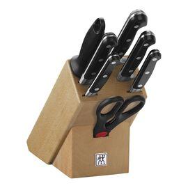 ZWILLING PROFESSIONAL S, Blok Bıçak Seti, 8-parça | Siyah | Kayın ağacı