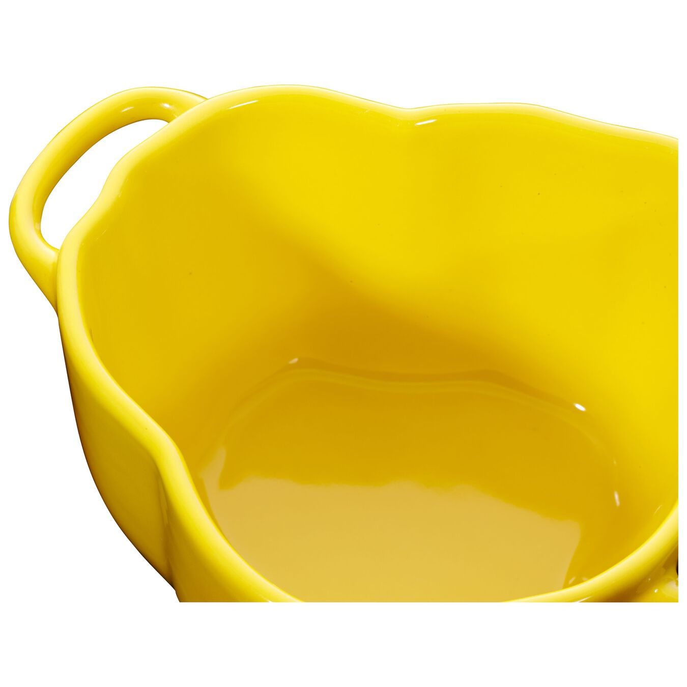 450 ml Ceramic pepper Cocotte, Yellow,,large 2