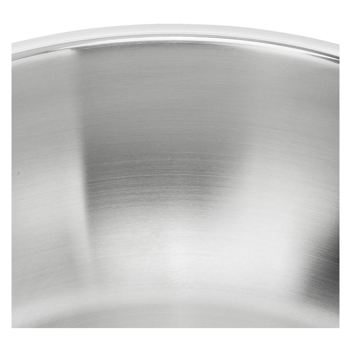 Wok 30 cm, 18/10 Edelstahl,,large 4