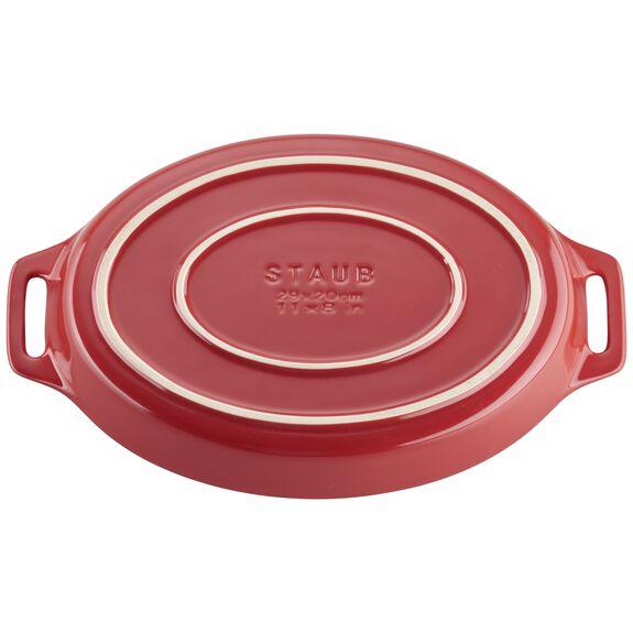2-pc Oval Baking Dish Set, Cherry, , large 2