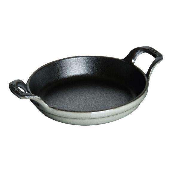 4.5-inch Mini Round Gratin Baking Dish - Graphite Grey,,large