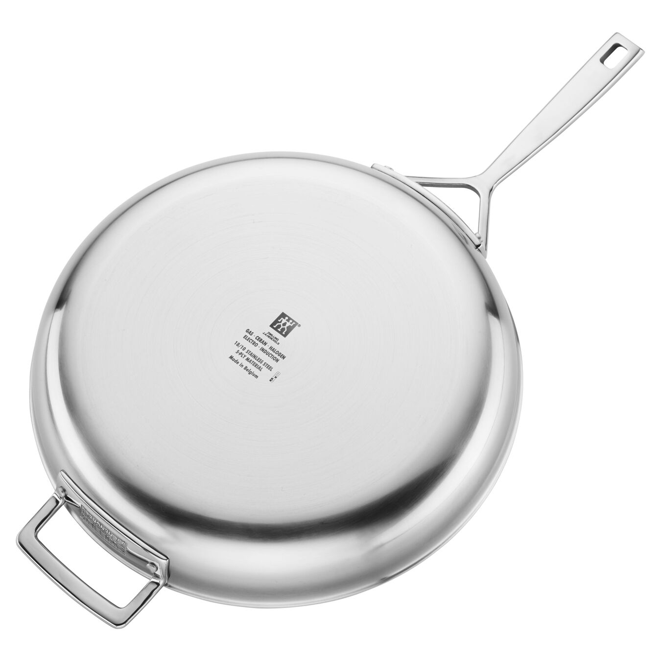 Stainless Steel 12.5-inch  Fry Pan,,large 3