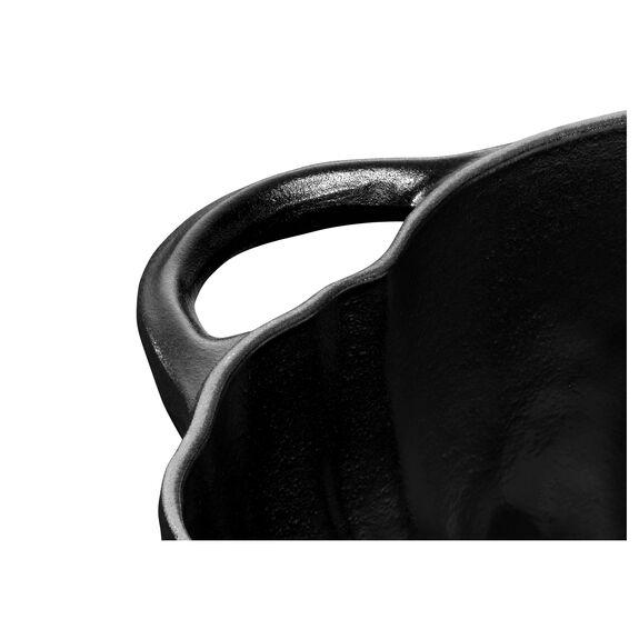 3.75-qt Pumpkin Cocotte, Black,,large 6
