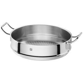 ZWILLING PLUS, Buharda Pişirme Aparatı, Yuvarlak | 32 cm | Metalik Gri