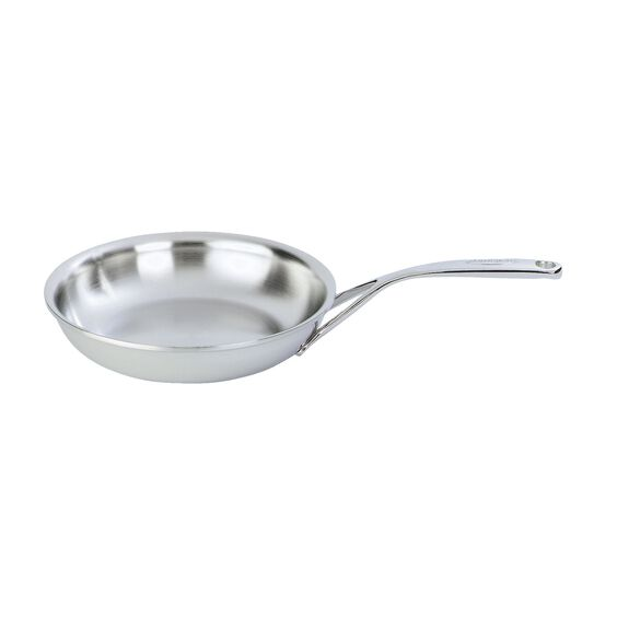 7.9-inch Stainless Steel Fry Pan,,large
