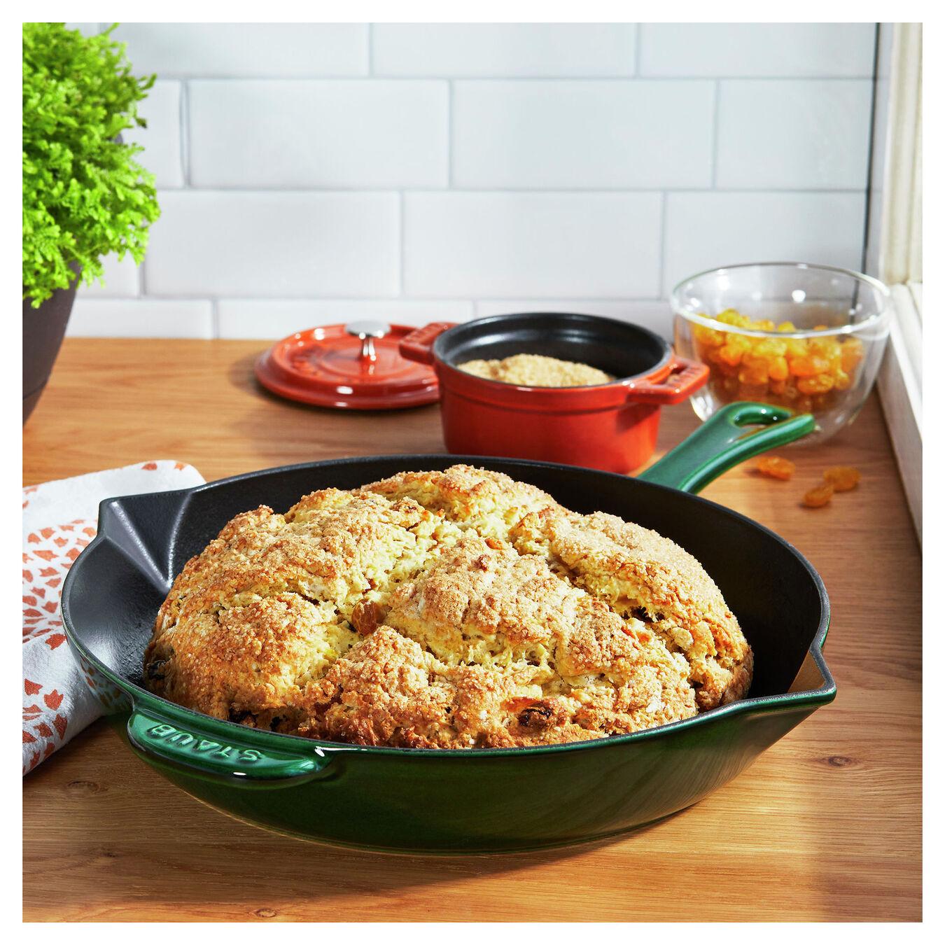 12-inch, Frying pan, basil,,large 2
