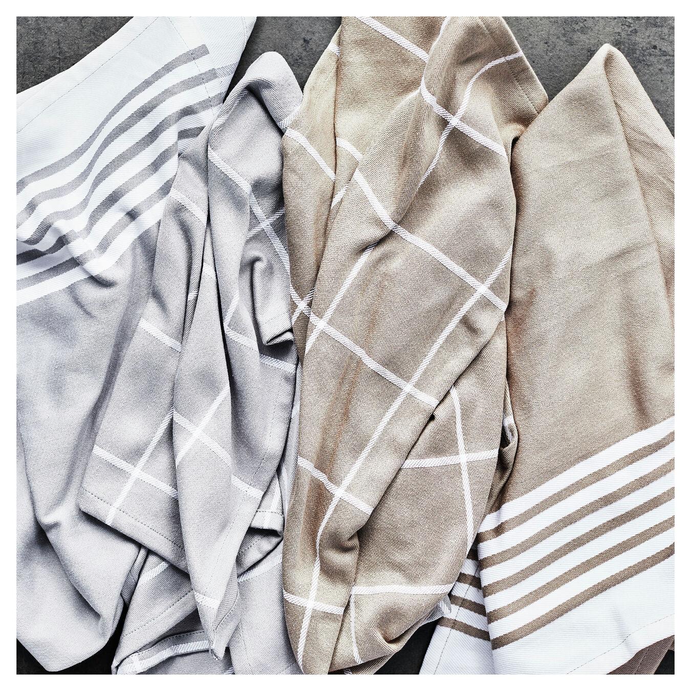 Kitchen towel, grey,,large 6