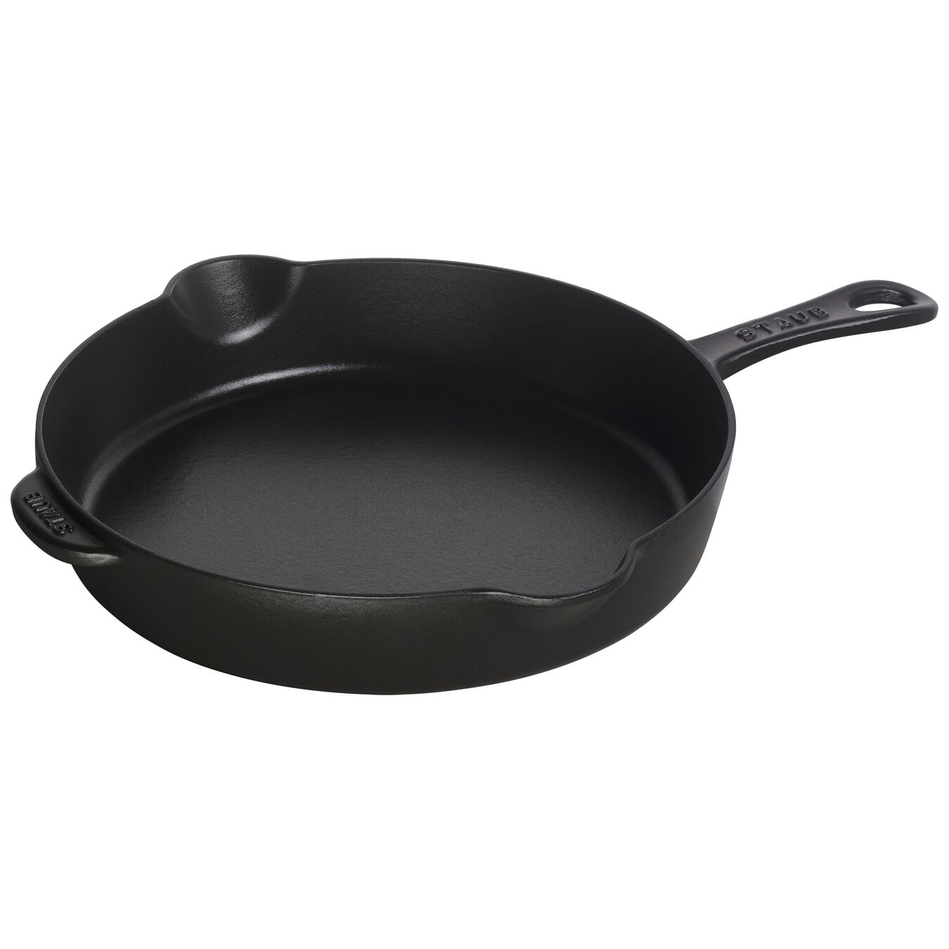 11-inch, Traditional Deep Skillet, black matte,,large 1