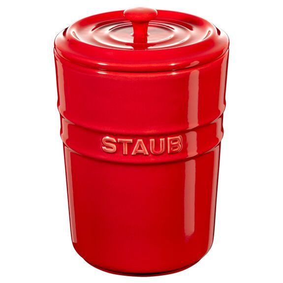 1-l-/-34-floz Ceramic Storage pot,,large