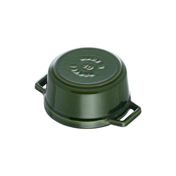 0.25-qt Mini Round Cocotte - Basil,,large 7