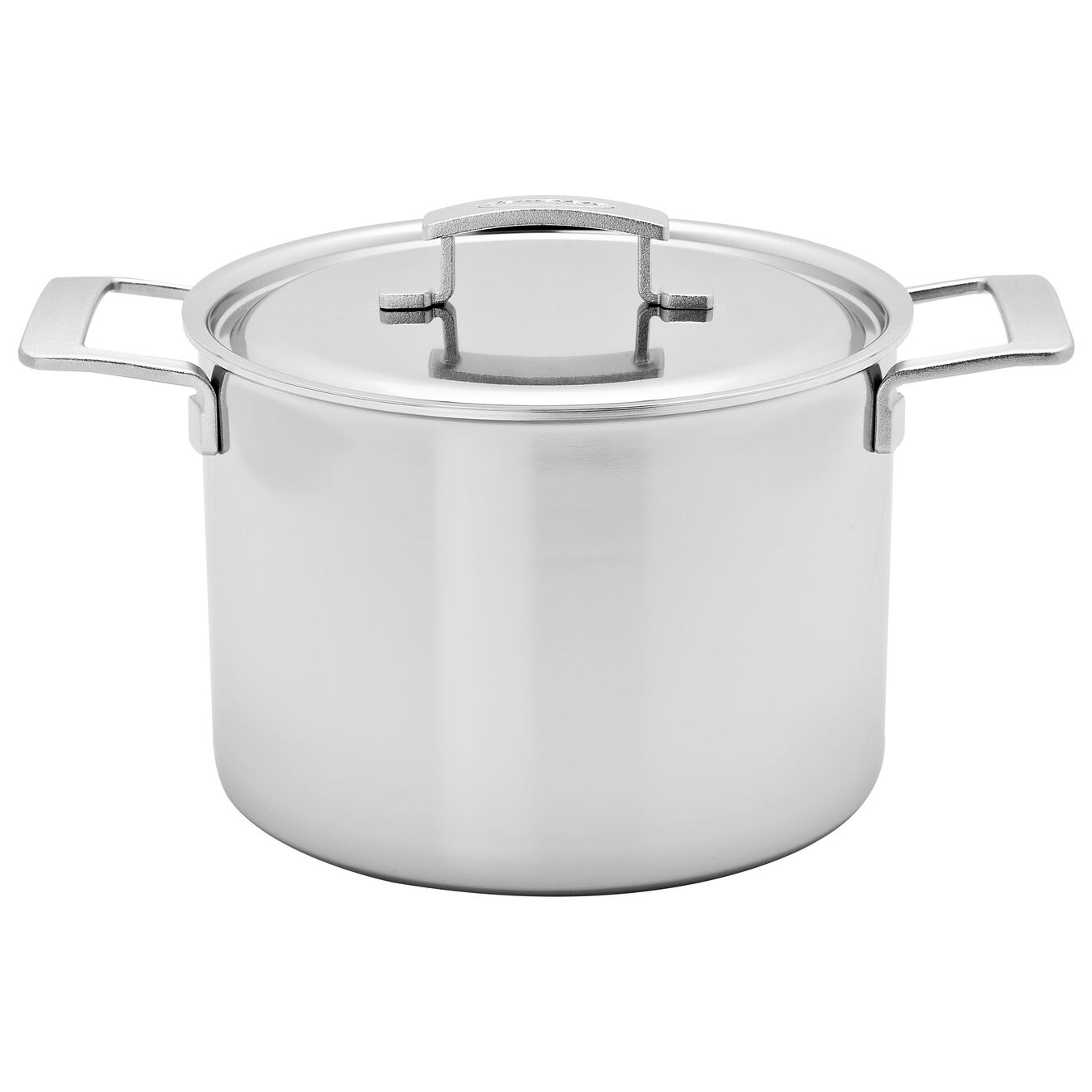 11.5 l 18/10 Stainless Steel Tall Stock Pot With Lid,,large 1