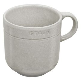 Staub Dining Line, Dessert cup set, 4 Piece | white truffle | Ceramic | round | Ceramic