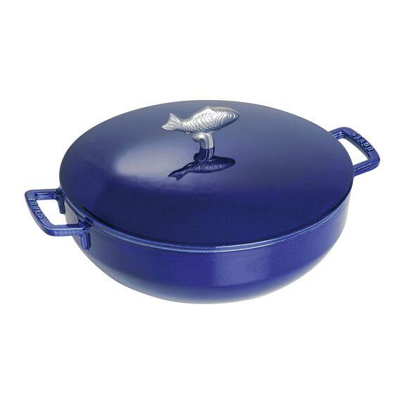 11-inch Cast iron Bouillabaisse pot,,large 3