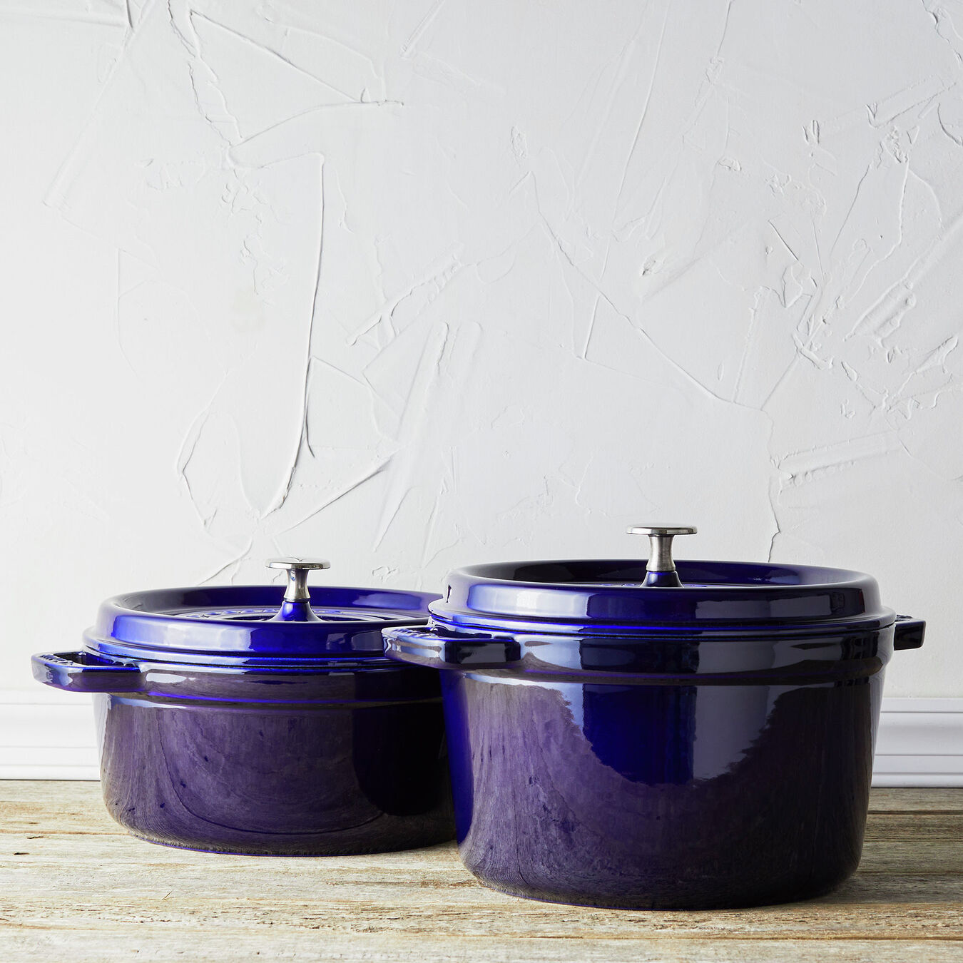 5 qt, round, Tall Cocotte, dark blue,,large 5