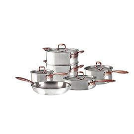 ZWILLING Rosé, 10 Piece 18/10 Stainless Steel Cookware set