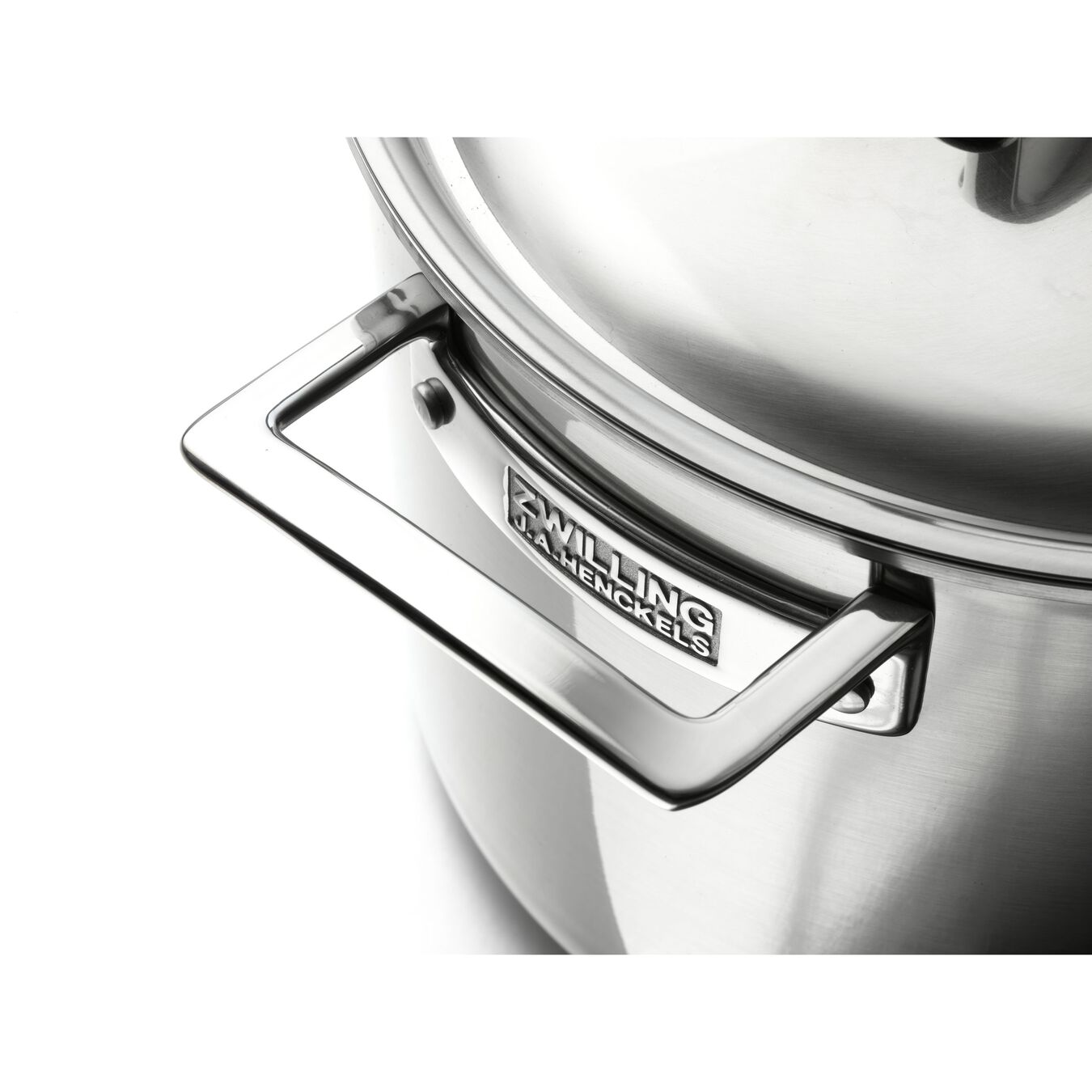 5 Ply, 18/10 Stainless Steel, 9.5-inch, Saute pan with lid,,large 2