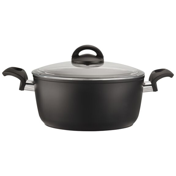 4.8-qt Forged Aluminum Nonstick Dutch Oven with Lid, , large