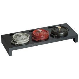 Staub Cast Iron, Wood Mini Cocotte Stand - Black