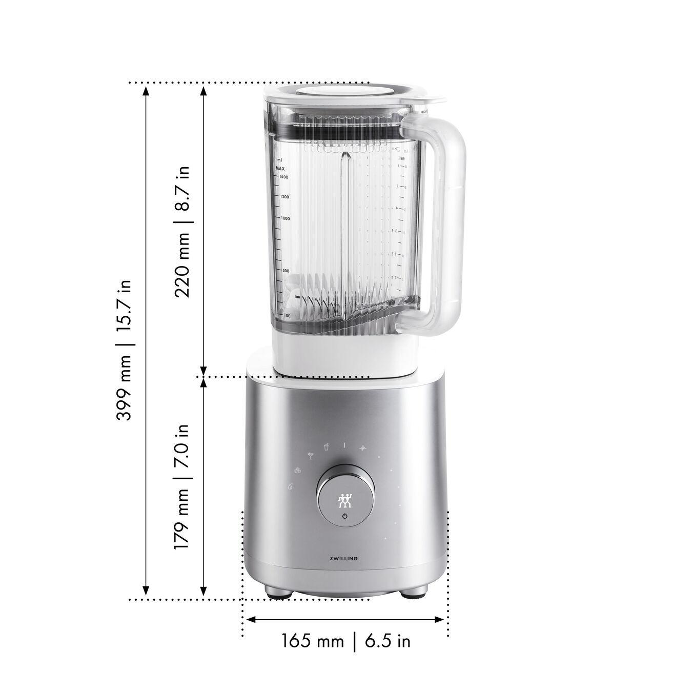 Table Blender - AC Motor, argento,,large 10