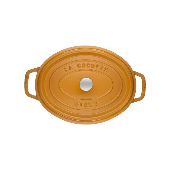 5.75-qt Oval Cocotte - Visual Imperfections - Saffron,,large 3