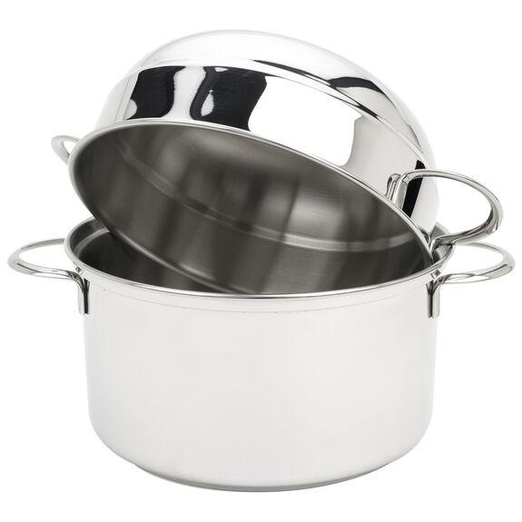 round  Mussel pot, (no colour),,large 2