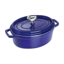 Staub Cast Iron, 4.25-qt Cocotte, Dark Blue