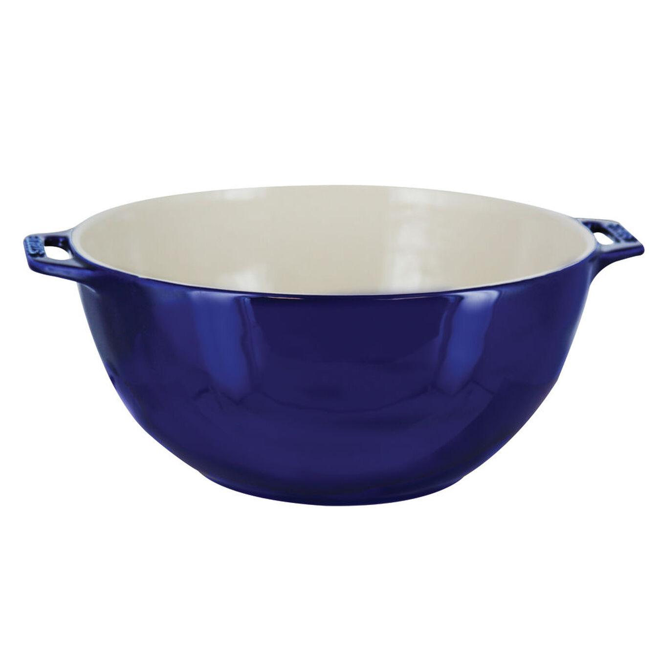9.5-inch Large Serving Bowl - Dark Blue,,large 1