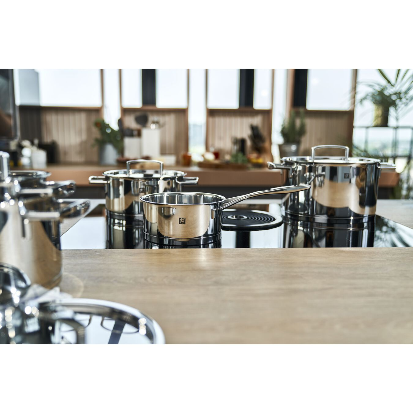 Ensemble de casseroles 5-pcs, Inox 18/10,,large 2