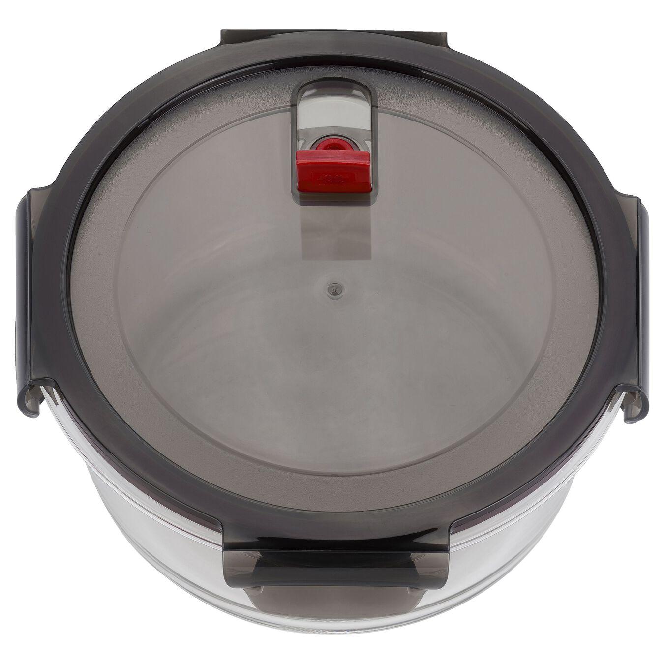 42.5 oz, borosilicate glass, round, Storage jar,,large 3