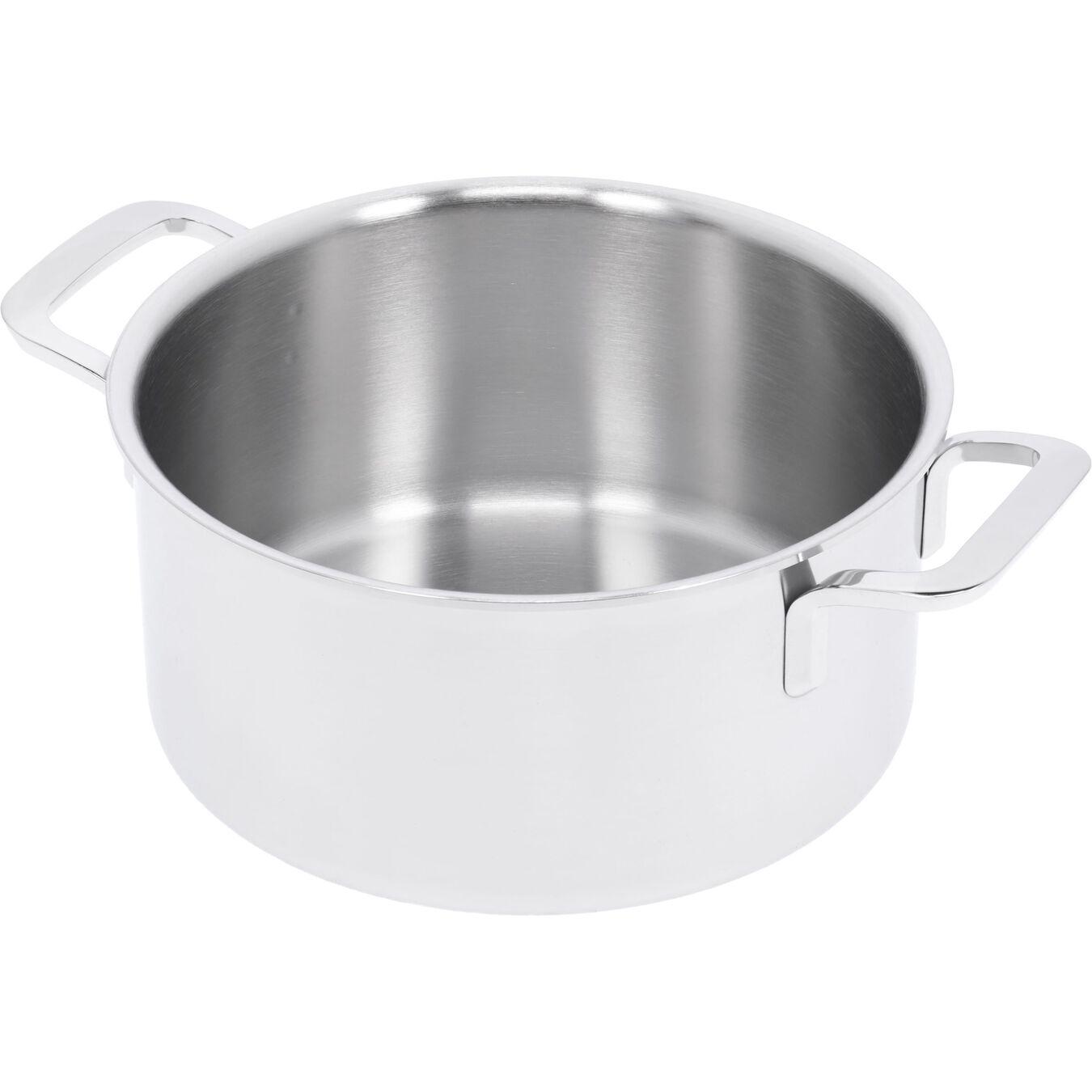 Kookpot met dubbelwandig deksel, 22 cm / 4 l,,large 2