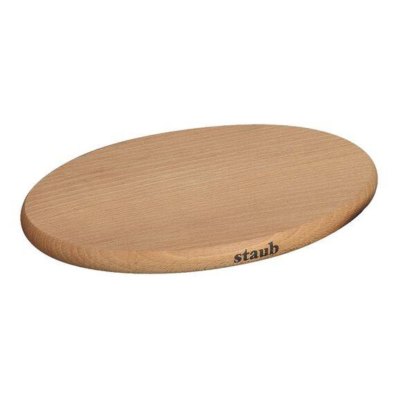 Nihale Mıknatıslı, 21 cm | Kahverengi | Ahşap | Oval,,large