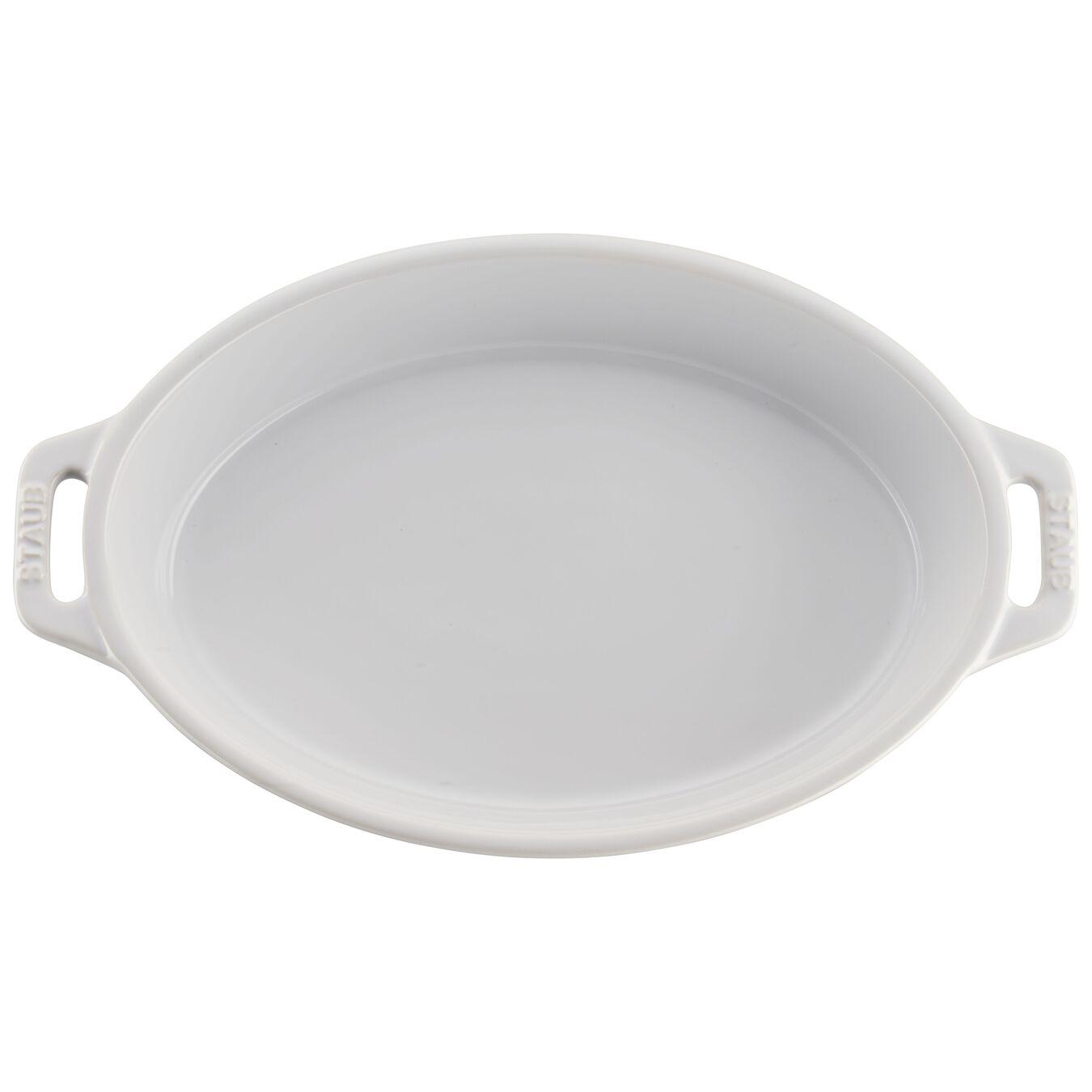 2-pc, oval, Baking Dish Set, white,,large 4