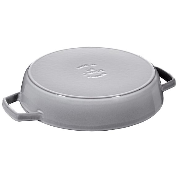 10-inch Double Handle Fry Pan - Visual Imperfections - Graphite Grey,,large 2
