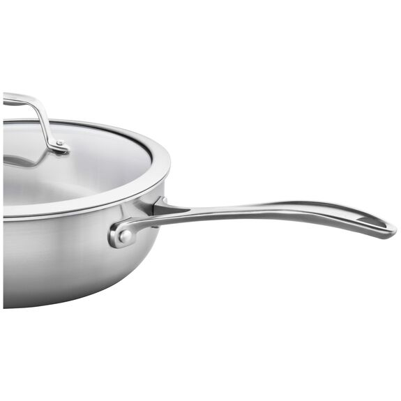 3-ply 4.6-qt Stainless Steel Perfect Pan,,large 4