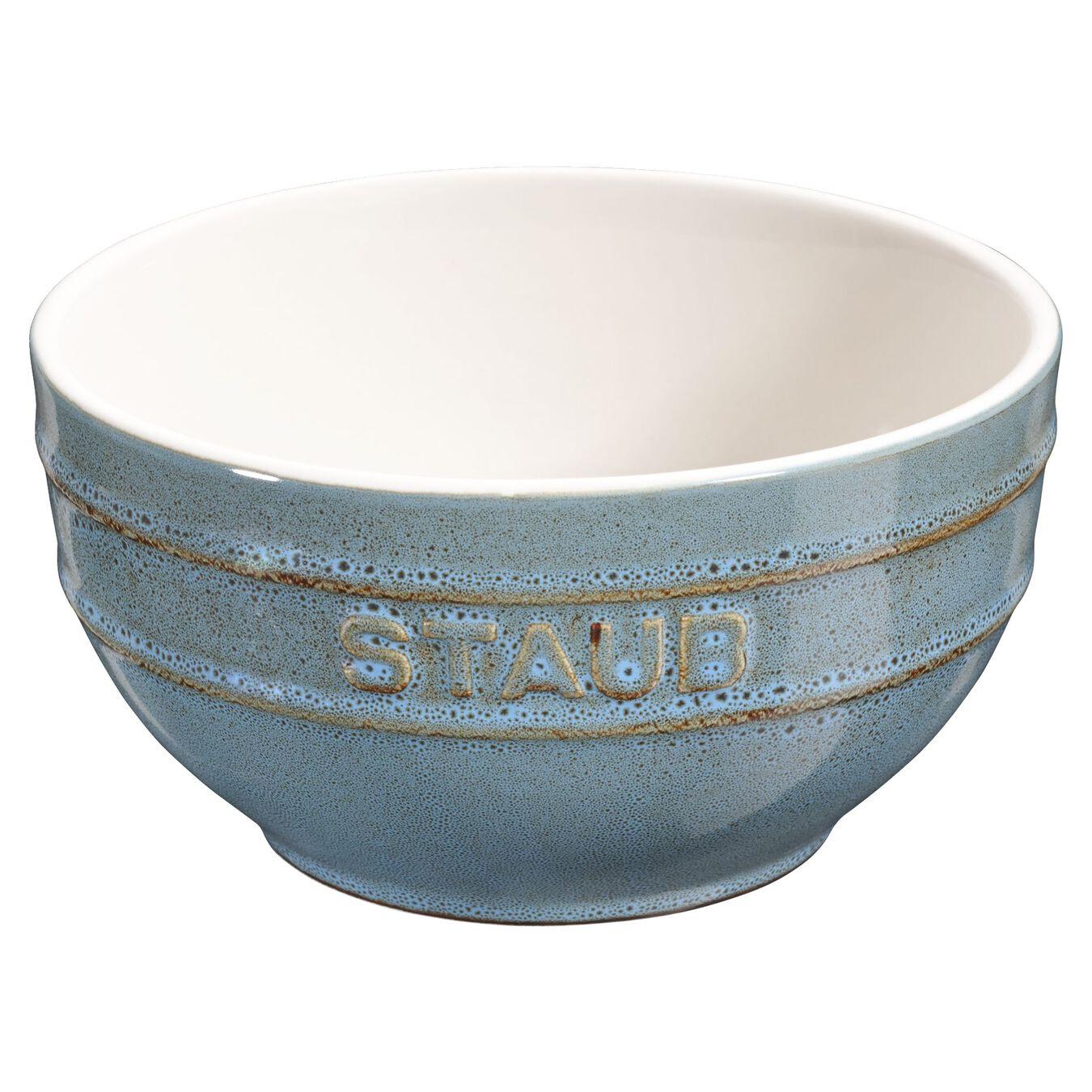 Ciotola rotonda - 14 cm, Colore turchese antico,,large 1