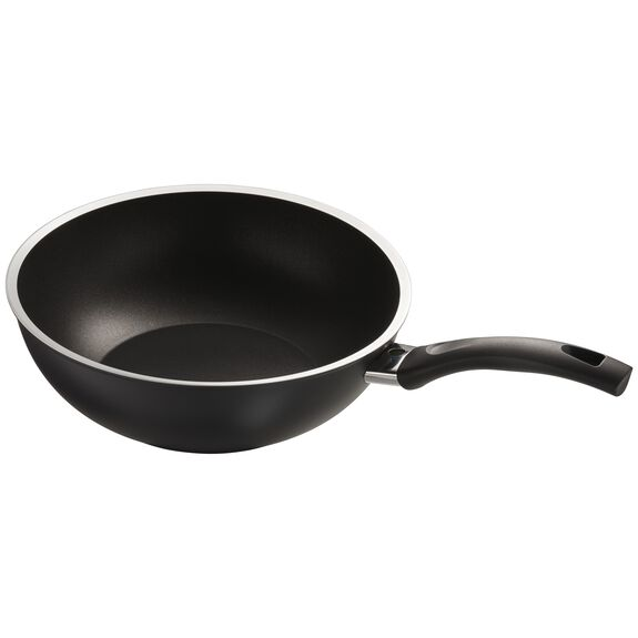 "11"" Forged Aluminum Nonstick Stir Fry Pan, , large 4"
