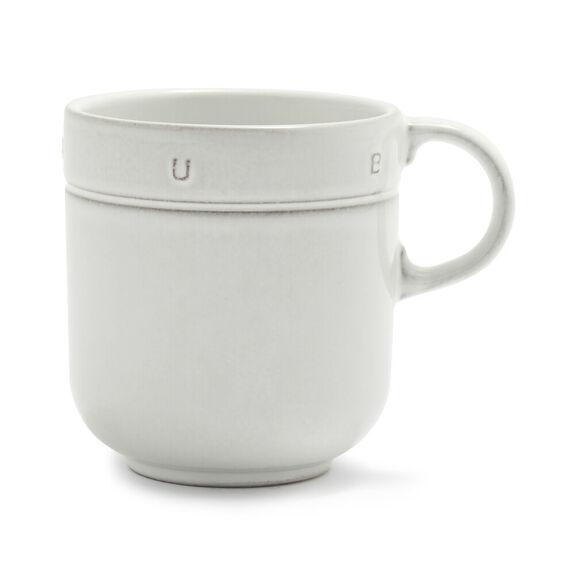 0.5-qt Ceramic Mug 16oz - Off White,,large