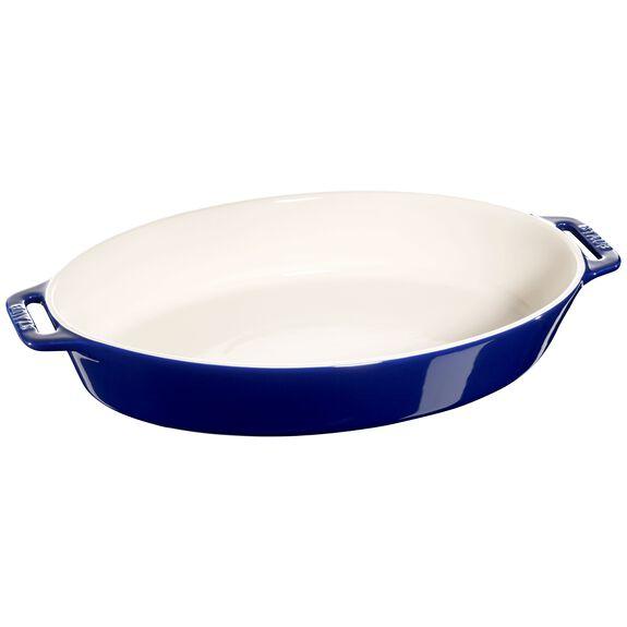 37-cm Ceramic Oven dish,,large