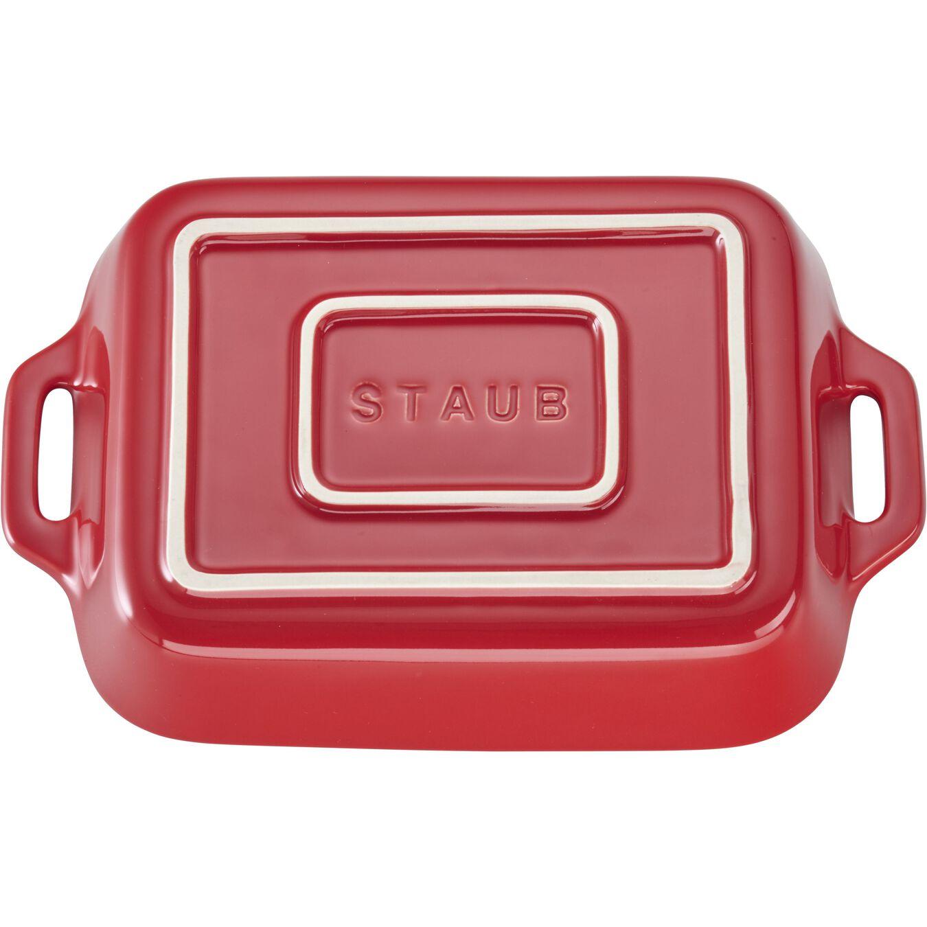 7.5-inch, rectangular, Baking Dish, cherry,,large 3