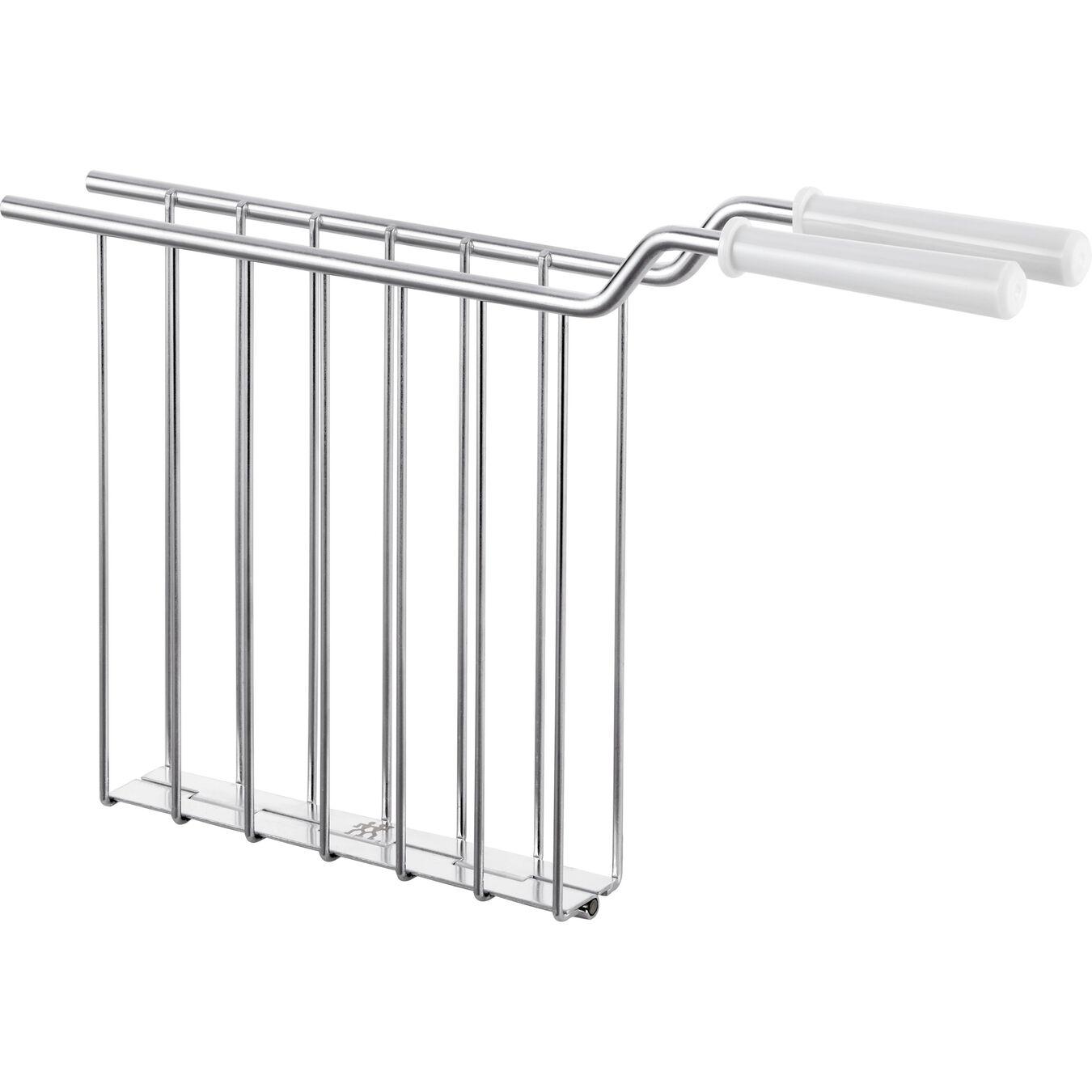 Sandwich rack, 2 short  slots | white,,large 1