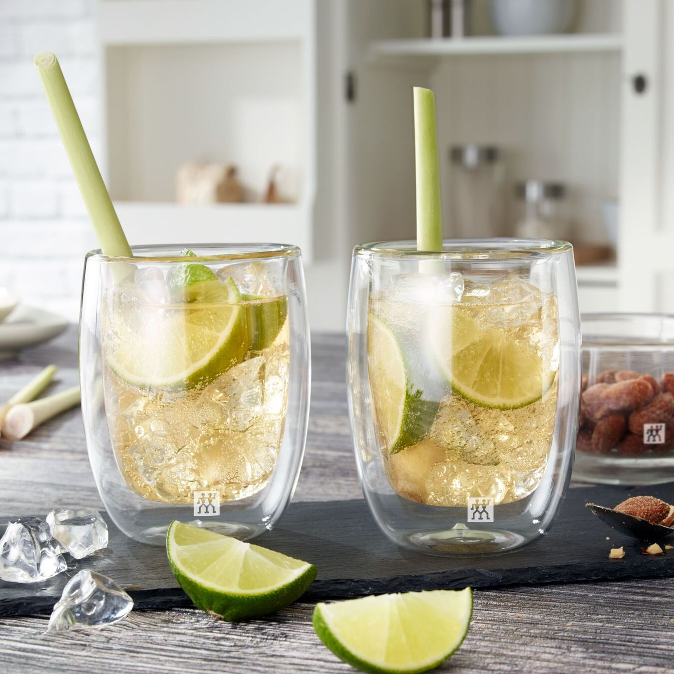2 Piece Double-Wall Coffee Glass Set,,large 3